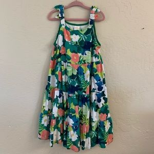 Gymboree floral summer dress